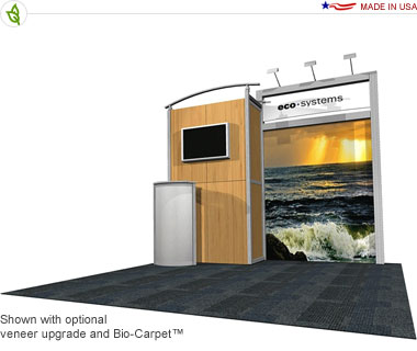 Cerro · 10′ × 10′ Inline Trade Show Booth