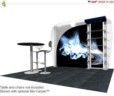 Ethos · 10′ × 10′ Inline Trade Show Booth