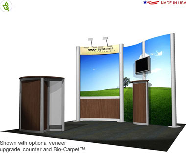 Solo · 10′ × 10′ Inline Trade Show Booth