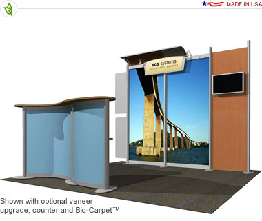 Trelew · 10′ × 10′ Inline Trade Show Booth