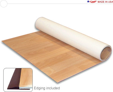 Comfort Floor™ • 10′ × 10′ Cushioned Vinyl Flooring