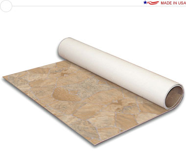 Comfort Flex™ · Natural Stones Collection • 20′ × 20′ Vinyl Flooring