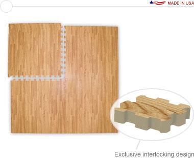 Comfort Tile™ Designer 10′ × 20′ Interlocking Floor Tiles
