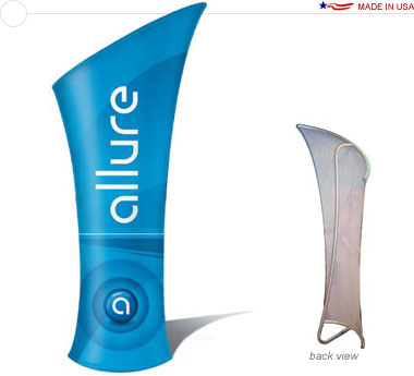 Allure™ Slope Left Banner Stand