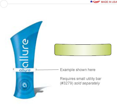Allure™ Small Stand Off Graphic