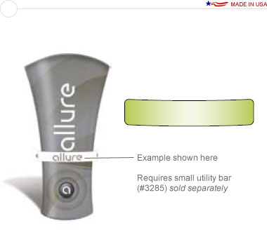 Allure™ Medium Stand Off Graphic