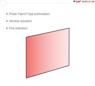 Entasi™ Graphic for an 8′ × 8′ Flat Frame