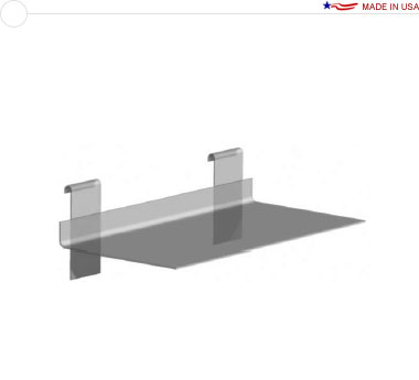 Acrylic Shelf — 6″ × 12″