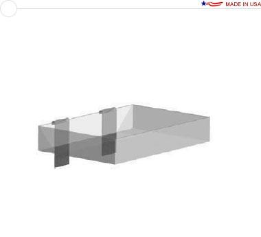 Acrylic Tray — 8″ × 12″ × 2″