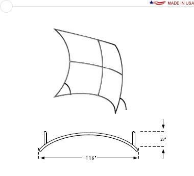 10′ × 8′ Web Frame