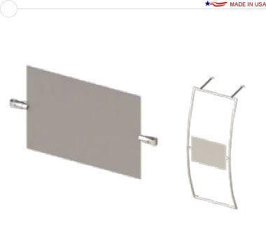 Large Rear Projection Screen