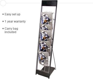 10-UP™ Literature Stand
