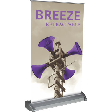 Breeze™ 2 Banner Stand