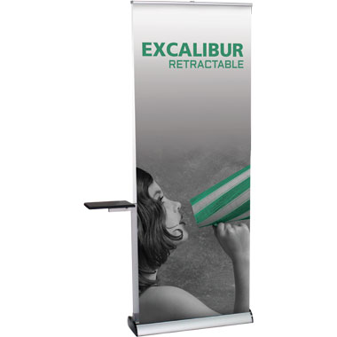 Excalibur™ Retractable Banner Stand • Kit 2