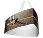 Formulate™ Hanging Banner Sign • Convex Three-Sided