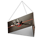 Formulate™ Hanging Banner Sign • Tapered Three-Sided