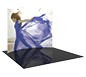 Formulate™ HC2 Tension Fabric Display · Left Angle View