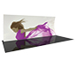 Formulate™ 20V Tension Fabric Display · Left Angle View