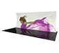 Formulate™ 20V Tension Fabric Display · Right Angle View