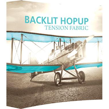 Hop Up™ 2×2 Backlit Pop Up Display