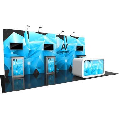 Hybrid Pro™ Modular 10′ Trade Show Exhibit Backwall • Kit 14