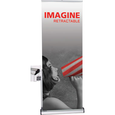 Imagine™ Retractable Banner Stand • Kit 3