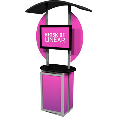 Linear™ Trade Show Kiosk Kit 01