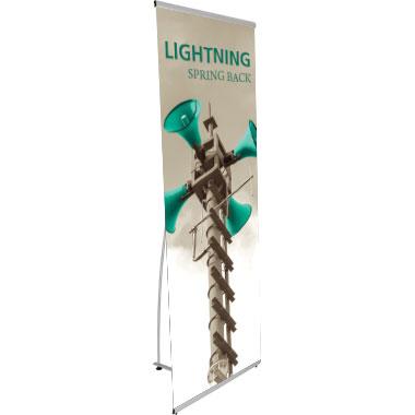 Lightning™ Banner Stand