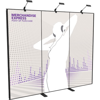 Merchandise Express™ Point Of Purchase Wall • Kit 01