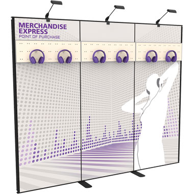 Merchandise Express™ Point Of Purchase Wall • Kit 03