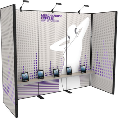 Merchandise Express™ Point Of Purchase Wall • Kit 06