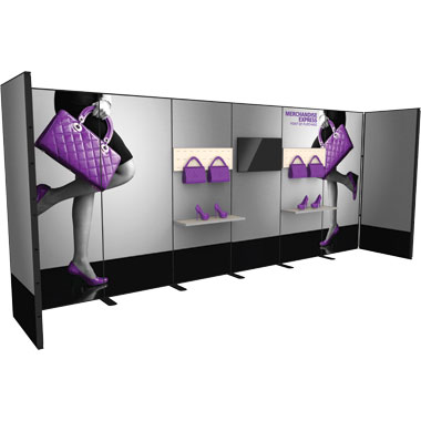 Merchandise Express™ Point Of Purchase Wall • Kit 10