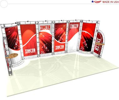 Theta 10′ × 20′ Trade Show Booth
