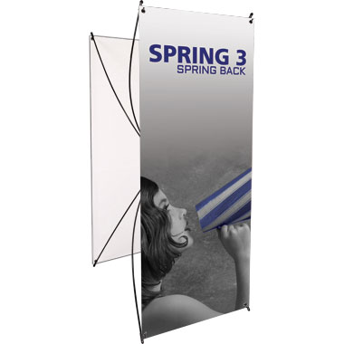 Spring™ 3 Banner Stand