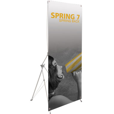 Spring™ 7 Banner Stand