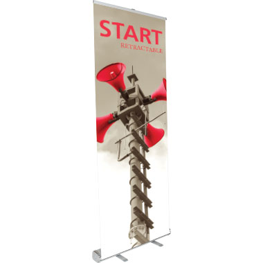 Start™ Retractable Banner Stand