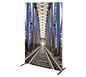 Vector Frame™ R-03 Tension Fabric Sign · Right Angle View