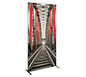 Vector Frame™ R-04 Tension Fabric Sign · Left Angle View