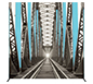 Vector Frame™ S-04 Tension Fabric Sign · Front View
