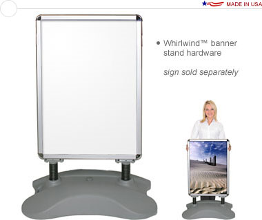 Whirlwind Outdoor Banner Stand