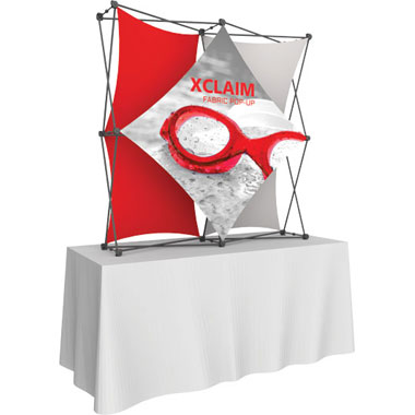 Xclaim™ Fabric Popup Display • 2×2 Kit 02