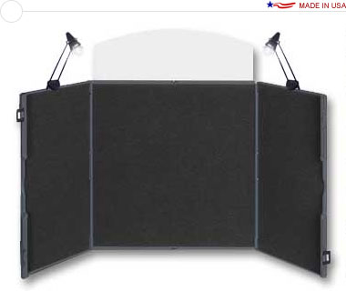 ShowStyle® Pro32 Briefcase Display w/ Lights & Canvas Bag