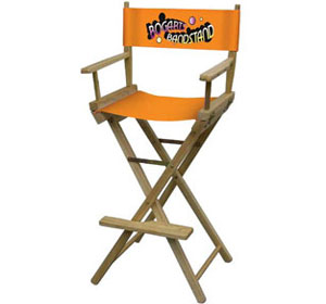 Directors Chair (Bar Height) w/ Full Color Logo Print