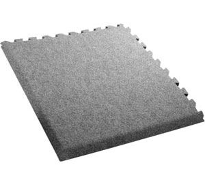 Comfort Carpet® Plus • 10′ × 10′ Interlocking Carpet Tiles with Beveled Edges