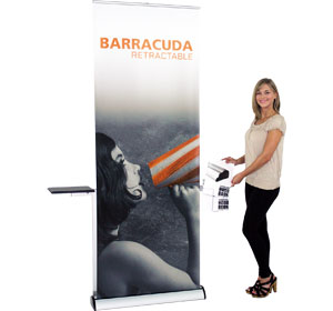 Barracuda™ Retractable Banner Stand • Kit 1