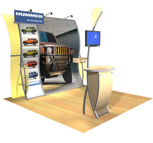 Perfect 10® • Juno Trade Show Exhibit