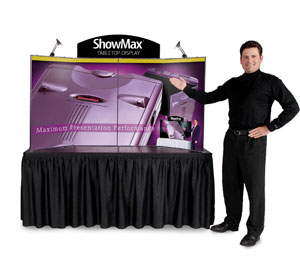 ShowMax® Tabletop Display with Full Graphics