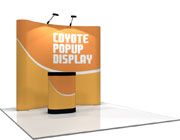 Coyote™ • 8′ Curved Pop Up Display