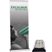 Excalibur™ Retractable Banner Stand