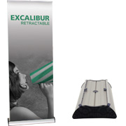 Excalibur™ 800 Retractable Banner Stand